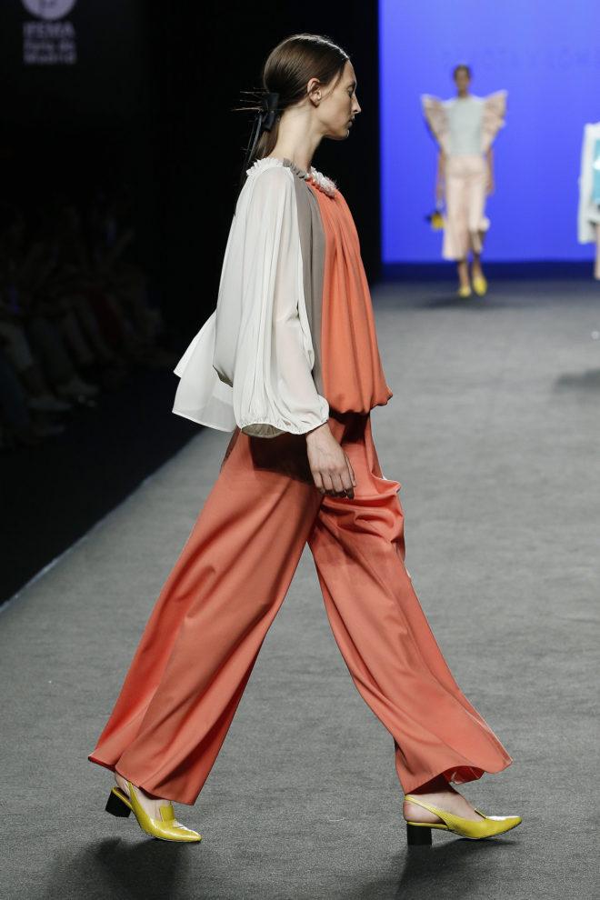 Blusa crepe de seda