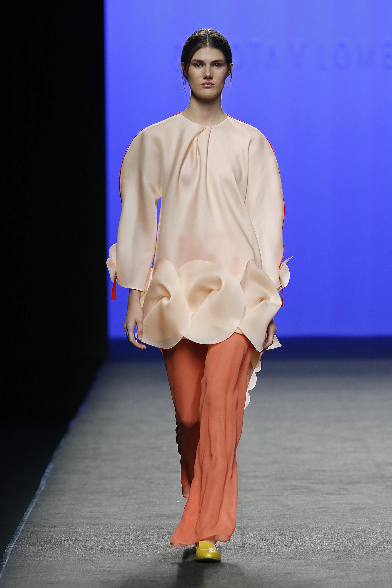 Blusa organza de seda