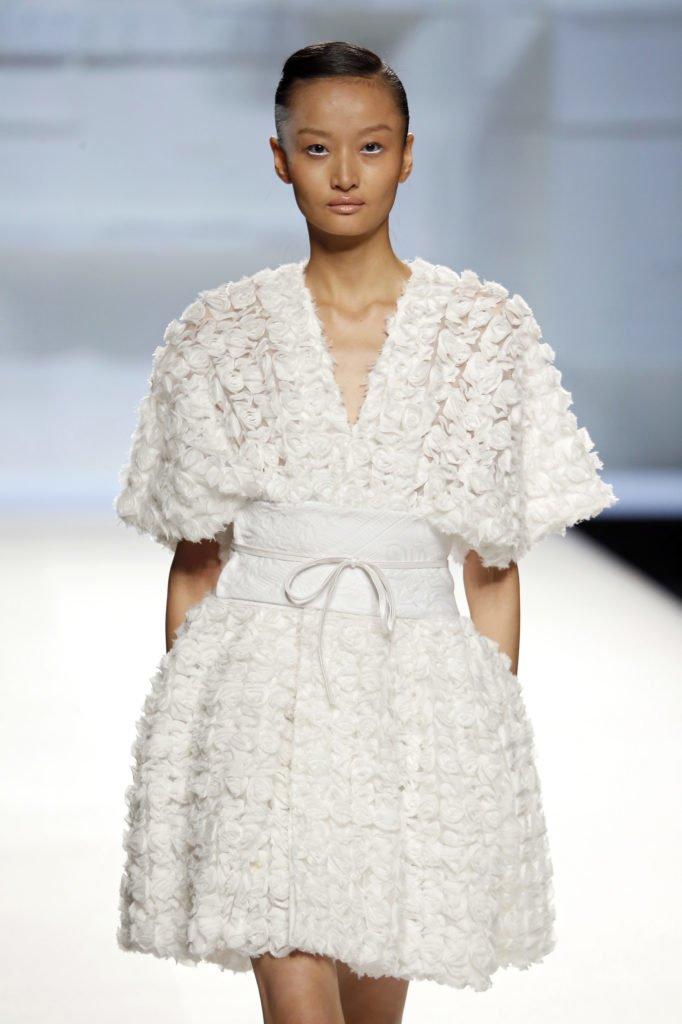 Vestido blanco tul