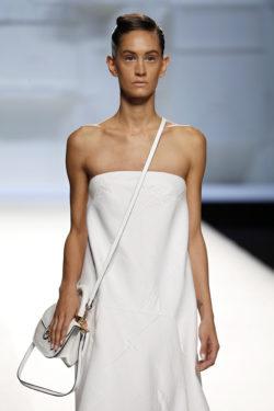 Vestido blanco diseñador
